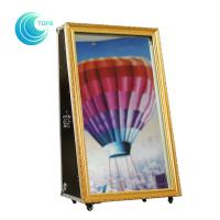 China CE Certified selfie mirror photo booth foto portable digital printer for sale on sale