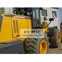 Wheeled Earthmoving Construction Machinery With 5000 KG Rated Load Double Pump Interflow Manufactures