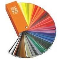 German Ral k5 color cards for fabric Manufactures