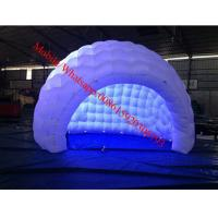 Customized Lighting Decoration Inflatable Tent , Inflatable Party Tent Manufactures