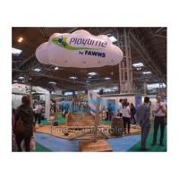 Trade Show Inflatable Cloud Custom Shaped Balloons Damp Proof With Company Logo Manufactures