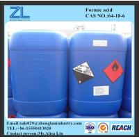 Textile and Dye industry 85%min formic acid Manufactures