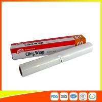 Household Eco Friendly Plastic Cling Wrap For Food / Vegetables Packaging Manufactures