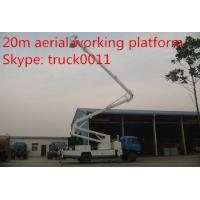 Quality Dongfeng Euro 3 170hp 18m-20m aerial working platform truck for sale, dongfeng for sale