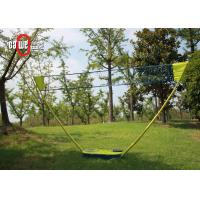 Durable Foldable Portable Badminton Set Easy Set Up Mobile Play Plastic Lightweight Manufactures