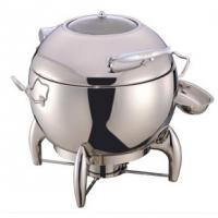 Quality Round Soup Station Stainless Steel Kitchenware With 11.0L Bucket for sale