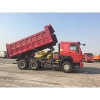 6 X 4 Middle Lift  25 Ton Heavy Duty Dump Truck 10 Wheels 336hp 371hp 380hp Manufactures