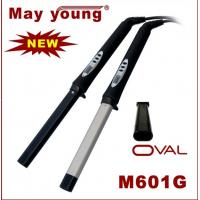 Buy cheap 2013 unique OVAL barrel ceramic LCD hair curler sticks M601G from wholesalers