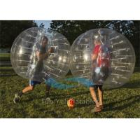 Quality Commercial Football Inflatable Body Bubble Zorb Bumper Ball 1.8m Dia for sale
