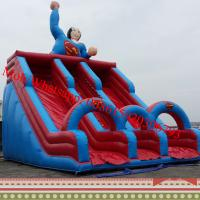 giant inflatable water slide inflatable water slide inflatable super man water slide Manufactures