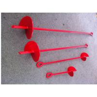 Quality Offset Eye Earth Screw Ground Anchors Galvanized Auger Ground Anchors for sale