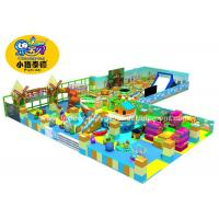 Anti UV Soft Play Area Games Equipment , Durable Kids Indoor Play Equipment Manufactures