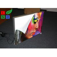 28mm Depth Thin LED Fabric Light Box On / Off Switch For Art Show And Exhibition Manufactures