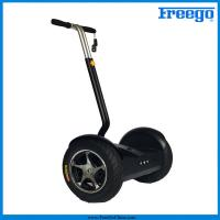 "Black Electric Self Balance Scooter with 17"" wheel 1000 motor remote controller for  Amusements Manufactures"