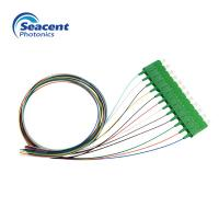 Durable Fiber Optic Pigtail 12 Color Beam With ST/APC Or FC/APC Connector Manufactures
