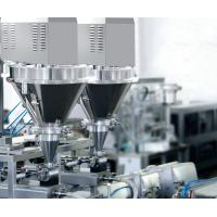 Multi Function Liquid Vacuum Packing Machine , Sachet Premade Pouch Filling Machine Manufactures