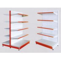 White 5×1000 mm Layers Shelf Metal Display Shelf Supermarket Display Stands Manufactures