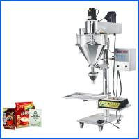Semi Automatic Powder Bag Filling Machine For Flour / Baby Powder / Coffee Manufactures