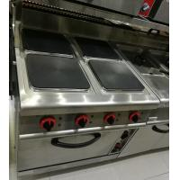 Quality Western Kitchen Equipment Commercial Gas Stove 4 Burner with Down Oven 700*700*850+70mm for sale