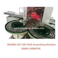 LED lens mounter, LED lens assembling machine, automatic LED pick and place machine S6LV Manufactures