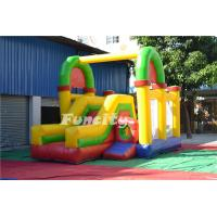 Colorful Combo Bouncer Inflatable Bouncy Castle With Slide 7m * 4.6m * 4m Manufactures