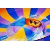 Behemoth Bowl Fiberglass Outdoor Water Sports Slide For Aqua Amusement Park Manufactures