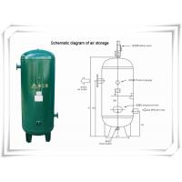 Screw Portable Rotary Compressed Air Receiver Tank Replacement Low Pressure Manufactures