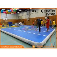 Buy cheap 0.9mm PVC Tarpaulin Jumping Inflatable Gym Airtrick Mat Inflatable Tumble Mat from wholesalers