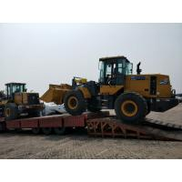 High Configuration Compact Wheel Loader , 5t Front End Loader ZL50GN With 3m3 Bucket Manufactures
