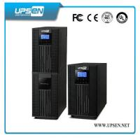 Parallel Function Uninterrupted Power Supply , High Frequency Online UPS LCD Display Manufactures