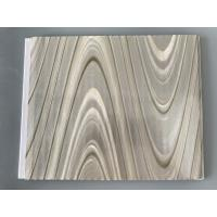 Study Ceiling Laminated Plywood Wall Panels , Wood Grain Laminate Sheets Wave Design Manufactures