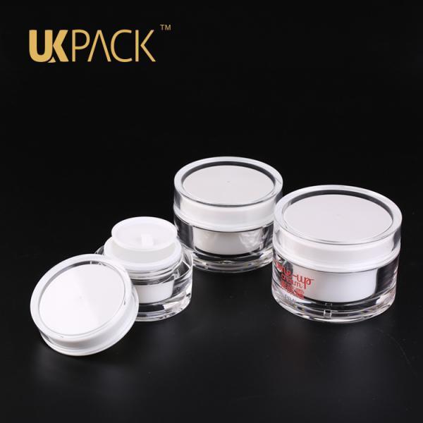UKPACK Personal care package PMMA Luxury packaging face Cream Jar