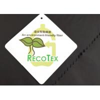 Buy cheap color 2/1 twill 30D 450T taffeta polyester recycled fabric for garments from wholesalers