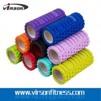 China Ningbo Virson yoga hollow roller.ABS tube hollow foam roller,eva foam yoga roller on sale