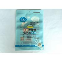 Printing Aluminium Foil Bag , Bathing Gloves Transparent Packaging Bag Manufactures