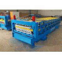 Quality 840 / 900mm Double Layer Roll Forming Machine For Pressing Glazed Roof Tile for sale