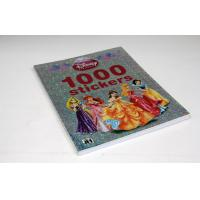China Custom Coloring Comic Book Printing , Disney Children Sticker Book Printing on sale