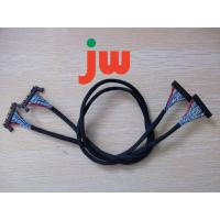Portable LVDS Cable Assembly Tin Wire Material , 80~150Ω/KM Room Temperature Resistance Manufactures