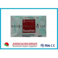 Disposable Hand Antibacterial Hand Wipes / Alcohol Free Hand Wipes Manufactures