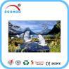 Eco friendly PET lenticular 3d posters with Flip effect 100LPI 75LPI Manufactures