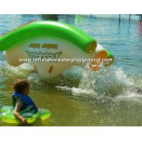 Quality Mini Fun Inflatable Water Totter , Pool Water Rocker For Kids Active Zone for sale