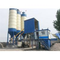Fixed Skip Hopper Simple Concrete Batch Plant With Control Panel Software Manufactures