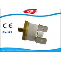 China Manual Reset Snap Disc Thermostat , Thermal Switch Thermostat  T24-RL2-CB on sale