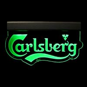 Novelty design 8mm acrylic green led edge lit acrylic sign Manufactures
