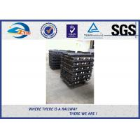 SGS Hot Rolled Steel 4 / 6 Hole Railway Fish Plate For Connecting Rails Manufactures