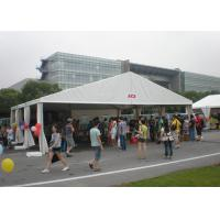 15 X 20 M Side White Outdoor Tent , 4m High Trade Show Tents Without Window Manufactures