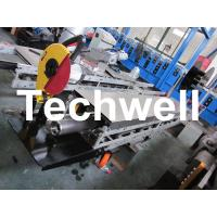 Square / Round Mobile Downpipe Forming Machine / Cold Roll Forming Machine Manufactures
