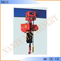5 Ton / 15 Ton Manual / Electric Chain Hoist Suspended Type 3m - 130m Manufactures