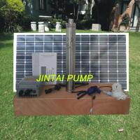 China Solar Panel Water Pump Kits Stainless SteelSubmersible Pump 180W JS3-1.8-60 on sale