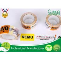 48mm 50mm BOPP Adhesive Printed Packing Tape For Shipping Box Carton Manufactures